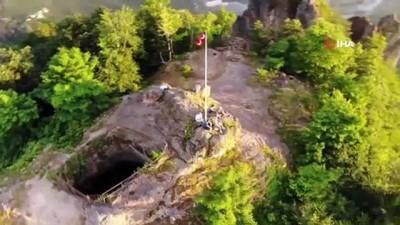 Kurul Kalesi'nde tarih ve doğa iç içe