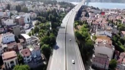 YKS nedeniyle yollar boş kaldı