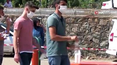 Deprem bölgesi Bingöl'de öğrencilerin sınav heyecanı