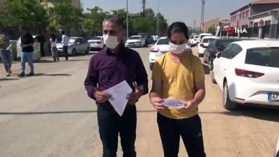 Mardin'de baba ve oğul aynı okulda YKS'ye girdi