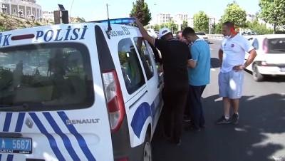 Başkentte zincirleme kaza: 4 araç birbirine girdi