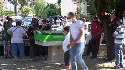 Marmaris'te üzerine su deposu düşerek ölen genç toprağa verildi