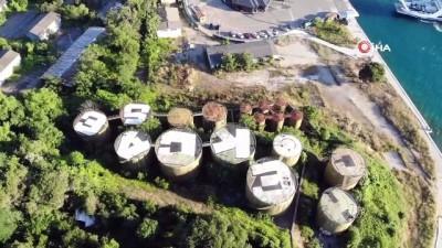 İstanbul'un uydudan görülen ilk grafitisi hayran bıraktı