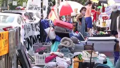 - New York'ta Floyd gösterilerinde 'polisin bütçesini kes' talebi