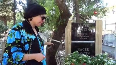 Dominik Cumhuriyeti'nde öldürülen kameraman  Alper Baycın'ın annesi ve babası, oğullarının ölümünün 2. yıl dönümünde mezarı başında gözyaşı döktü