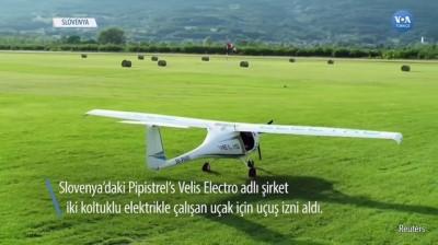 Elektrikle Çalışan Uçağa Uçuş İzni