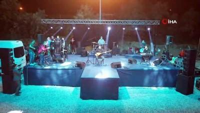 Nevşehir'de 'Arabalı Konser' düzenlendi