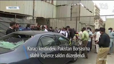 Pakistan Borsası'na Saldırı