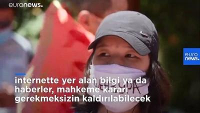 Kırgızistan: Hükümetin 'basın ve internet sansürü' yasa tasarısı protesto edildi