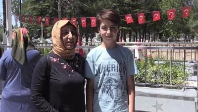 Kahraman şehit Halisdemir'in kabrine ziyaretçi akını - NİĞDE