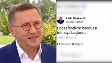 İyi Partili Lütfi Türkkan da geçmişini silemedi!