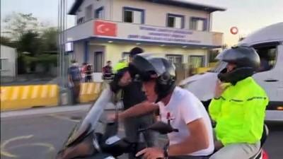 İstanbul Valisi Ali Yerlikaya, Mahmutbey Gişelerde bayram denetimine katıldı