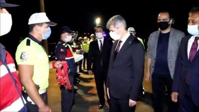 İçişleri Bakan Yardımcısı Muhterem İnce bayram trafiği denetimlerine katıldı - BALIKESİR