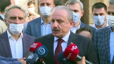 TBMM Başkanı Şentop, Kurban Bayramı namazı sonrası açıklamalarda bulundu (2)  - İSTANBUL
