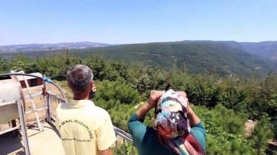 Manisa'da ormanlar 'duman takipçisi' aileye emanet
