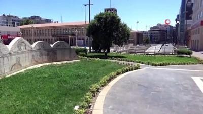Gaziantep'te cadde ve sokaklar bomboş kaldı