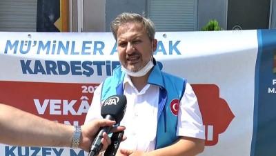 TDV'den Kuzey Makedonya'da kurban kesimi - ÜSKÜP