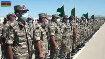 Ortak tatbikata katılan Türk ve Azerbaycan askerlerinden bayram kutlaması - BAKÜ