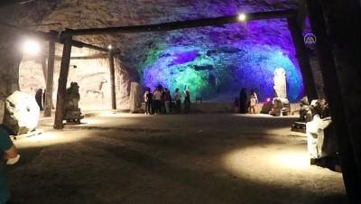 5 bin yıllık tuz mağarası kapılarını yeniden ziyaretçilerine açtı - ÇANKIRI
