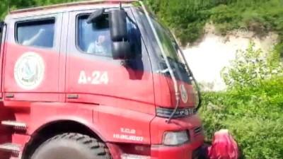 Turgutlu'daki orman yangınında soğutma çalışmaları sürüyor (3) - MANİSA