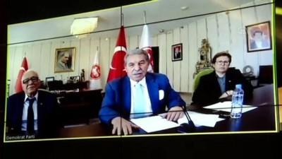 Siyasi partiler videokonferans aracılığıyla bayramlaştı - AK Parti-DP-ANAP-DSP-Vatan Partisi -  ANKARA