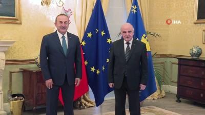 - Bakan Çavuşoğlu, Malta Devlet Başkanı Vella ile görüştü