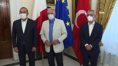 - Bakan Çavuşoğlu'ndan Malta'da üçlü görüşme