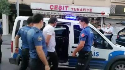 Metruk iş yerinde iki grup arasında silahlı tartışma: 2 yaralı