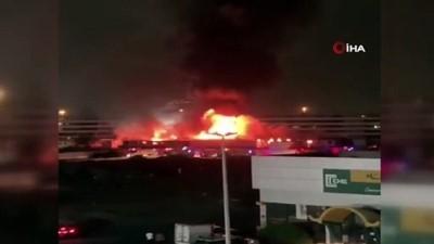 - Suudi Arabistan'da tren istasyonunda korkutan yangın
