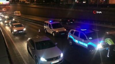 Zincirleme kazaya karışan kadın sürücüden kendini görüntüleyen gazeteciye sitem