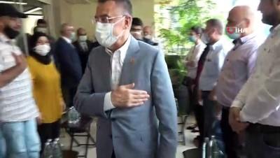- Cumhurbaşkanı Yardımcısı Oktay ve Dışişleri Bakanı Çavuşoğlu, Lübnan'daki patlamada yaralanan Türk aileyi ziyaret etti