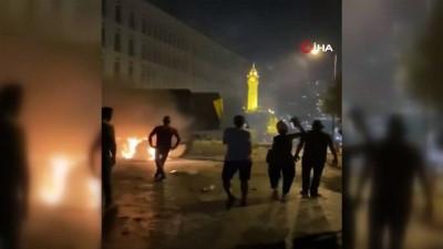 - Beyrut'taki protestolar sırasında 1 polis öldü, yaralı sayısı 238'e yükseldi
