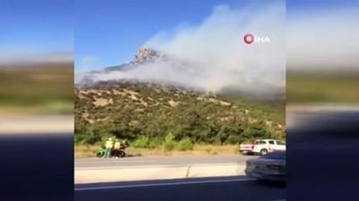 Kepsut'taki orman yangını kontrol altına alınamıyor