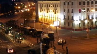 - Belarus'ta gece boyunca gerilim devam etti - Lukaşenko'dan gözaltı olaylarının araştırılması talimatı