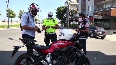 Eş zamanlı motosiklet uygulaması 4 bin 643 noktada yapıldı - ANKARA