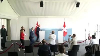Dışişleri Bakanı Çavuşoğlu: '(İsviçre) İkili ticaret hacmimiz geçen yıla göre, pandemiye rağmen yüzde 30 arttı' - BERN