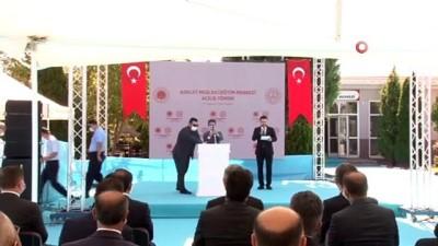 Adalet Bakanı Gül, mesleki eğitim merkezi açılış törenine katıldı