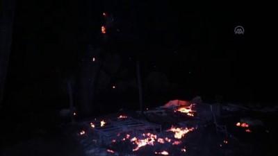 Kazdağlarında orman yangını (2) - BALIKESİR