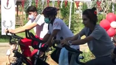 Yenişehir'de 'Minik Pedallar Projesi' start aldı