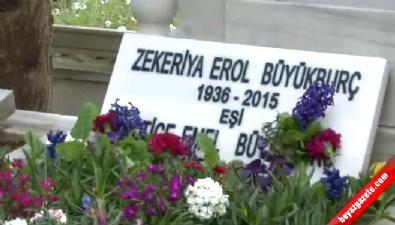 Erol Büyükburç mezarı başında ilahilerle anıldı