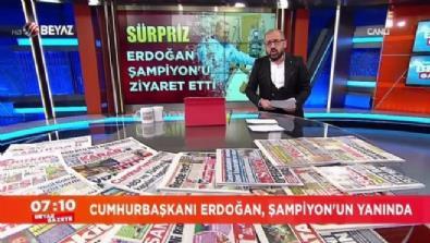 Cumhurbaşkanı Erdoğan, Süleymanoğlu'nu ziyaret etti