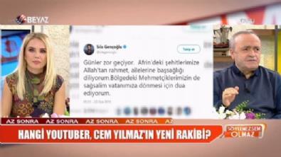 Sıla'dan ''Afrin'' paylaşımı
