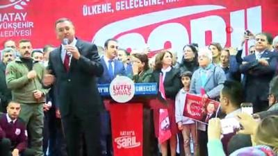 """Hatay Büyükşehir Belediye Başkanı Lütfü Savaş: """"Biz birbirimize gönül bağı kurduk"""""""