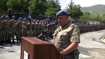 Şehit asker Kadir Yıldırım için tören - HAKKARİ