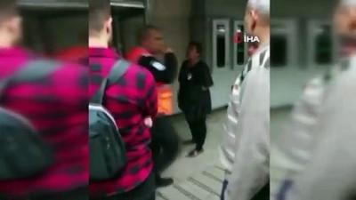 Karaköy'de başörtülü genç kızlara saldıran Semahat Y., çıkarıldığı hakimlikçe tutuklanarak cezaevine gönderildi
