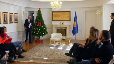 Kosova Cumhurbaşkanı Thaçi, Arnavutluk ile sınırların kaldırılmasını istiyor - PRİŞTİNE