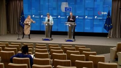 """- AB İçişleri Bakanları """"sığınmacı"""" gündemiyle Brüksel'de toplandı - Hırvat Bakan, sınırda yaşanan duruma yönelik soruyu yanıtsız bıraktı"""