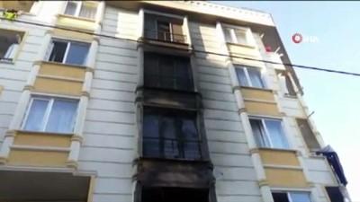 Başakşehir'de bir apartmanda yangın çıktı: 5 kişi mahsur kaldı