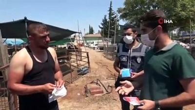 Antalya polisinden kurban pazarında dolandırıcılık ve korona virüs uyarısı