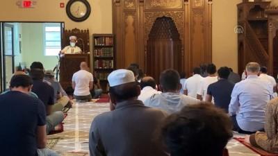 ABD'deki Müslümanlar, bayram namazlarını Kovid-19 önlemleri altında kıldı - NEW JERSEY